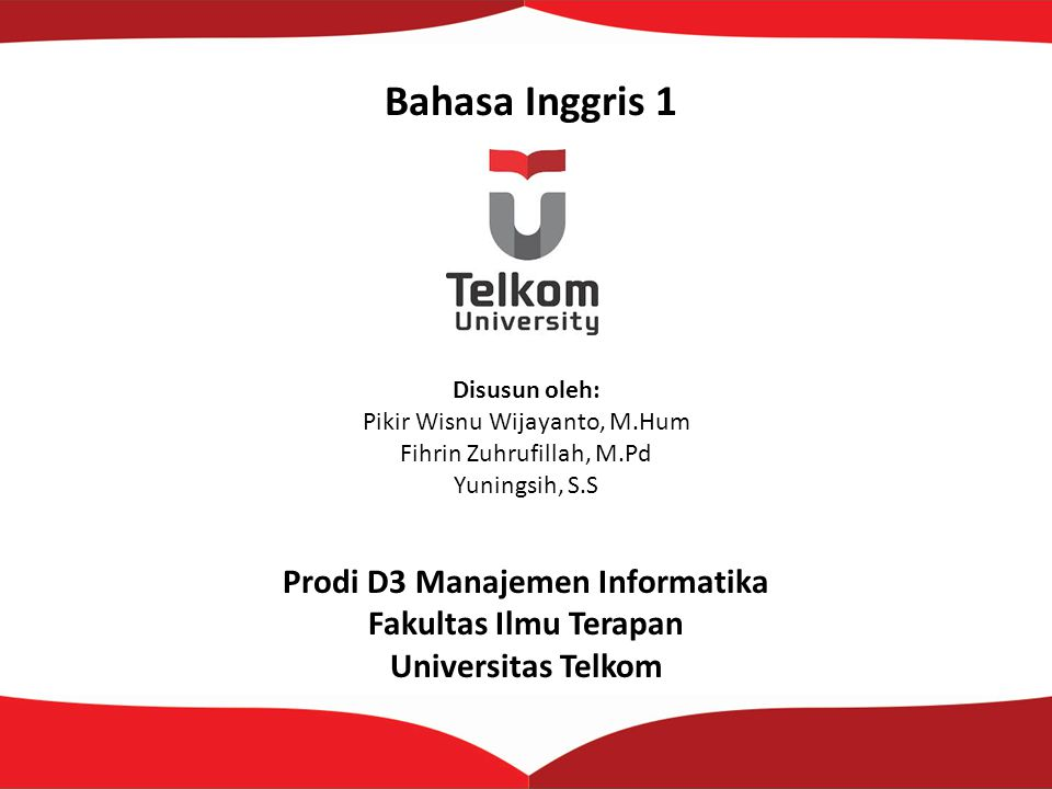 Prodi D3 Manajemen Informatika