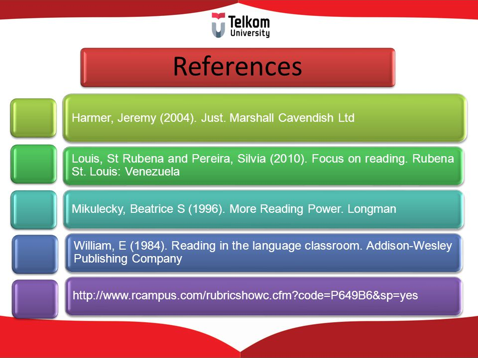 References Harmer, Jeremy (2004). Just. Marshall Cavendish Ltd