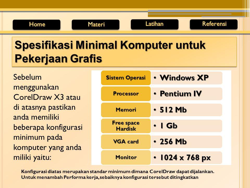 Spesifikasi Minimal Komputer untuk Pekerjaan Grafis