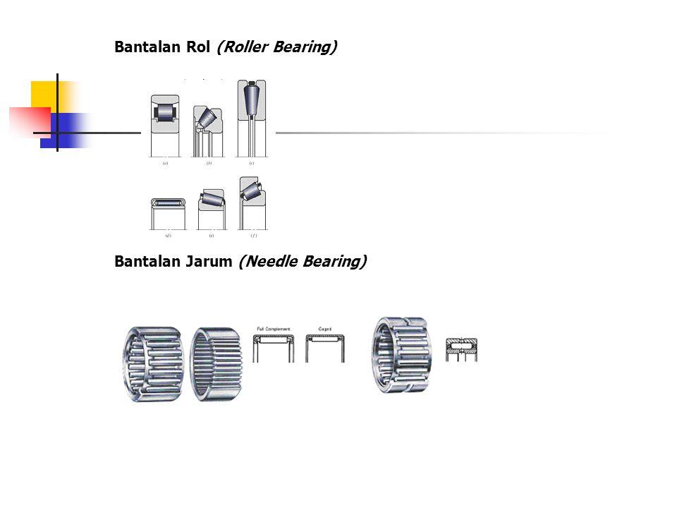 Bantalan Rol (Roller Bearing)