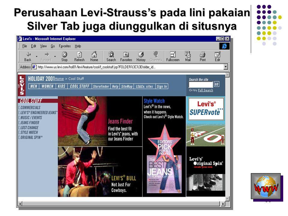 Perusahaan Levi-Strauss's pada lini pakaian