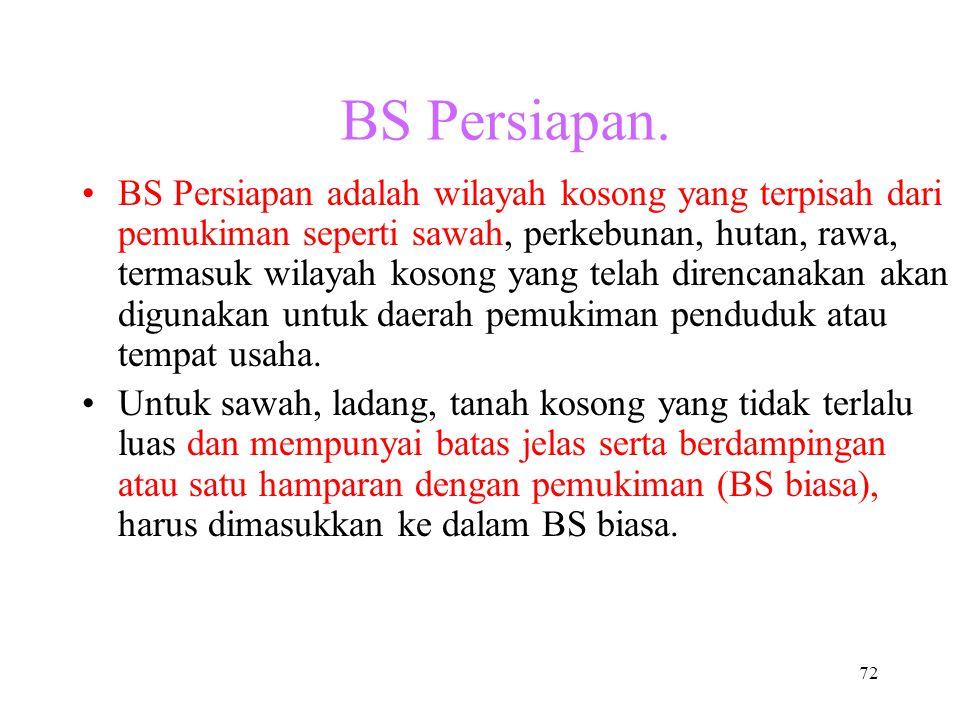 BS Persiapan.
