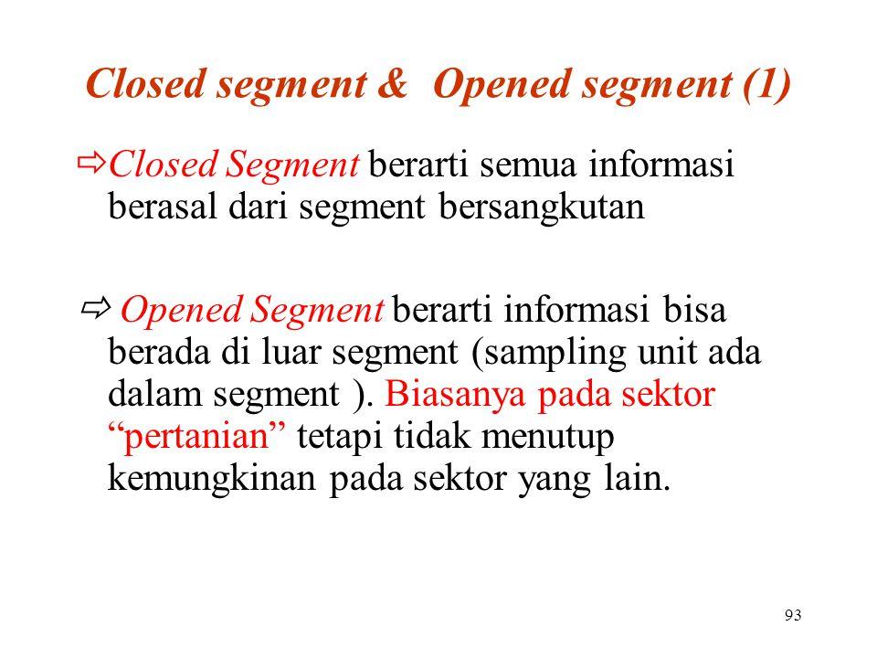 Closed segment & Opened segment (1)