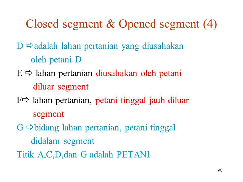 Closed segment & Opened segment (4)