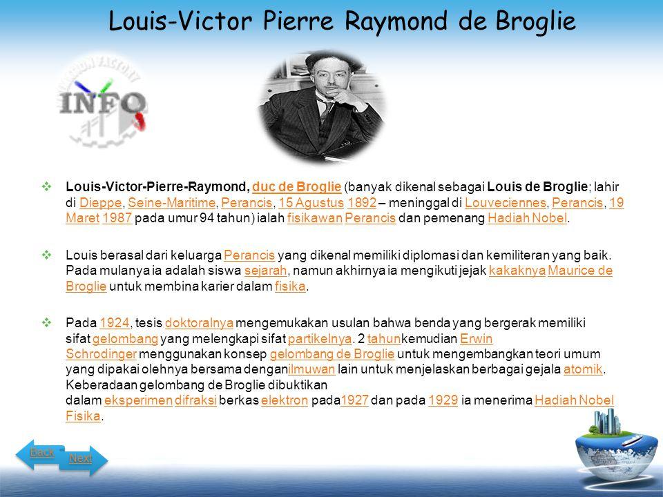 Louis-Victor Pierre Raymond de Broglie