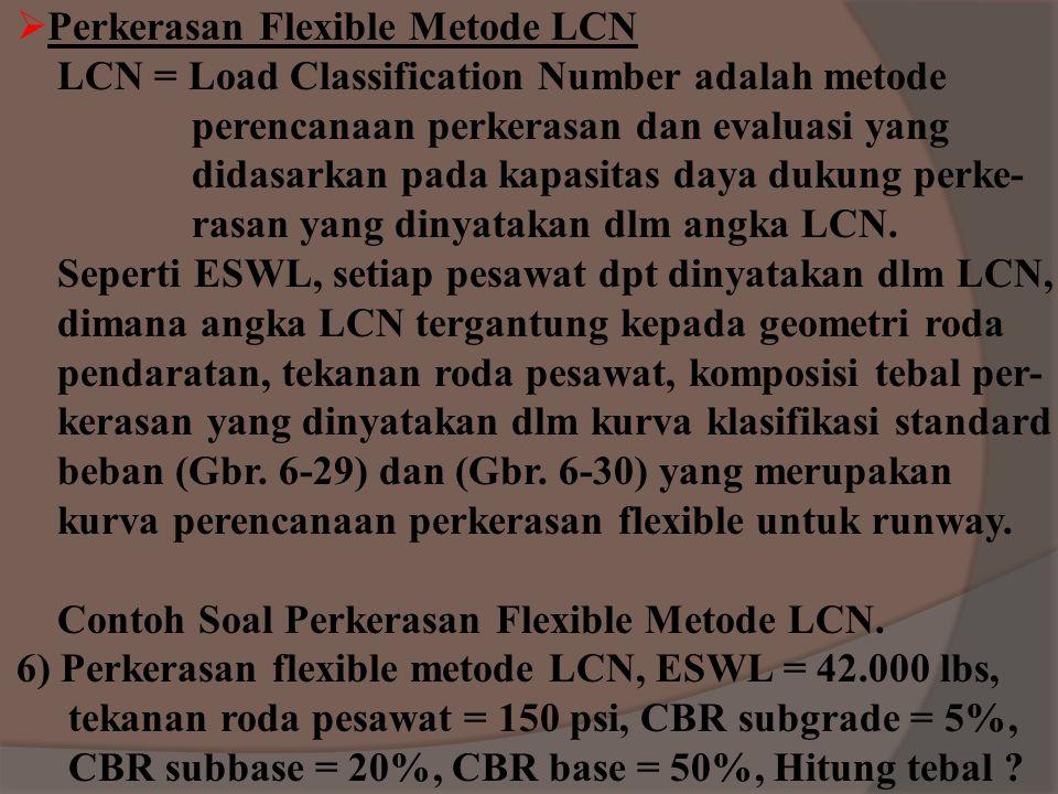 Perkerasan Flexible Metode LCN