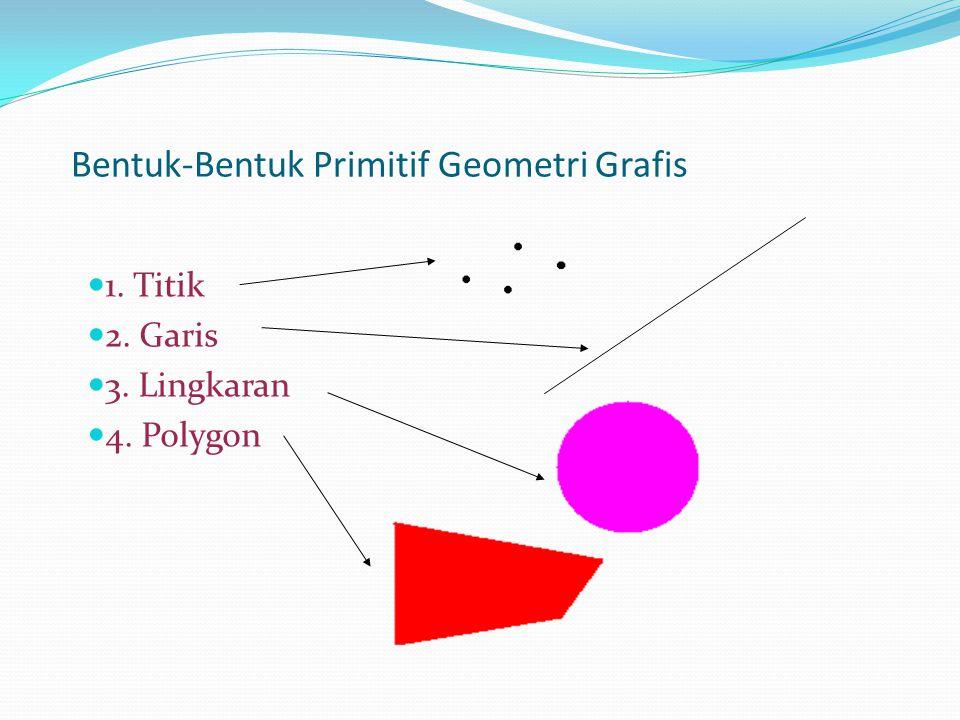 Bentuk-Bentuk Primitif Geometri Grafis