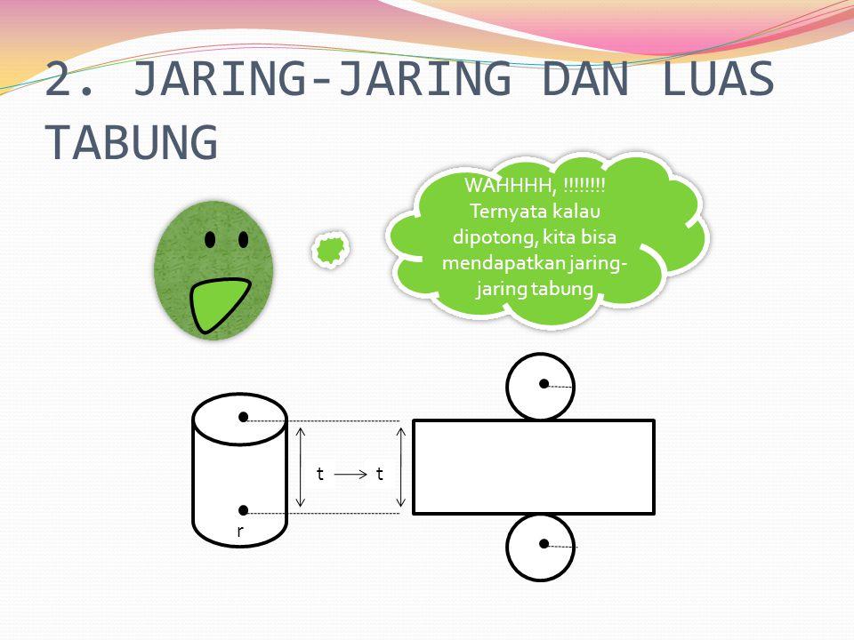 2. JARING-JARING DAN LUAS TABUNG
