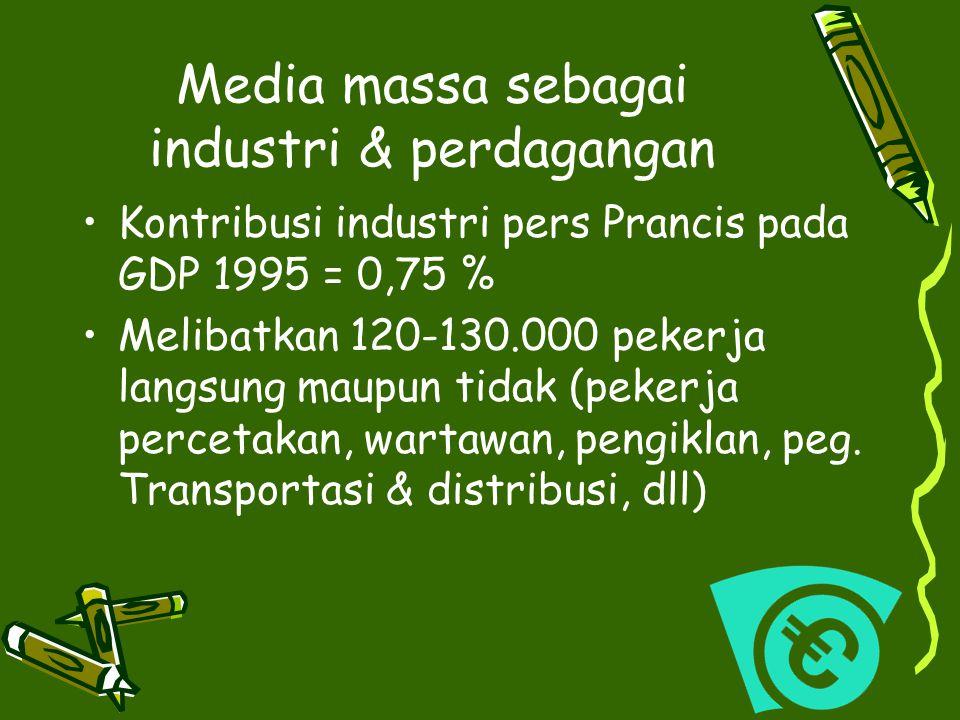 Media massa sebagai industri & perdagangan