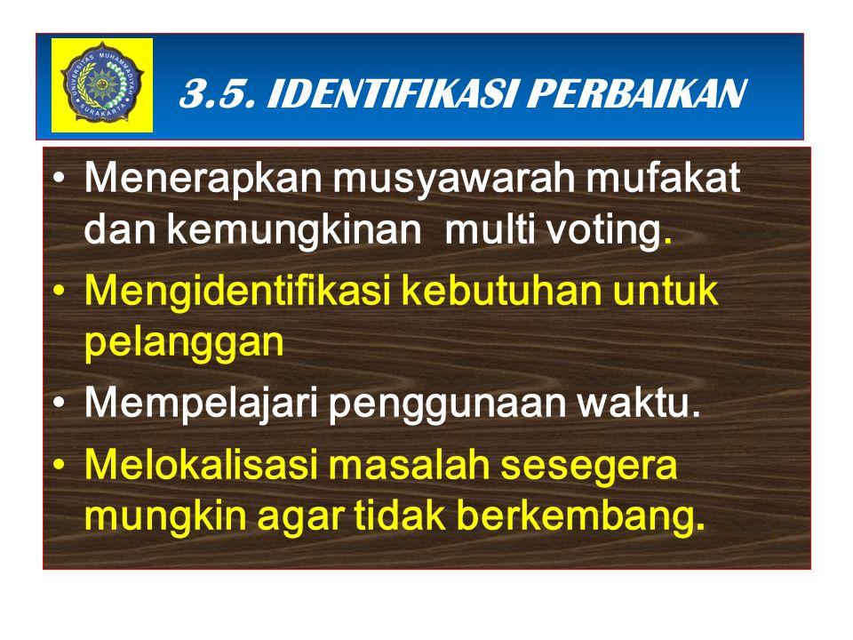 3 3.5. IDENTIFIKASI PERBAIKAN