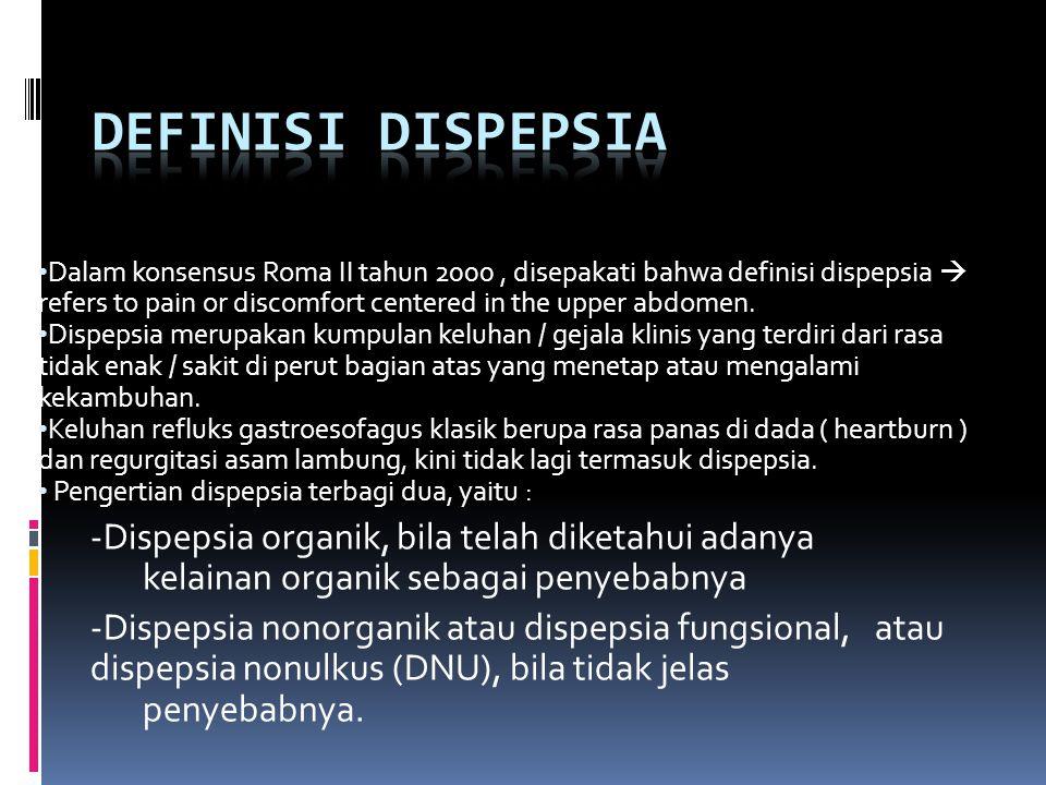 Definisi Dispepsia