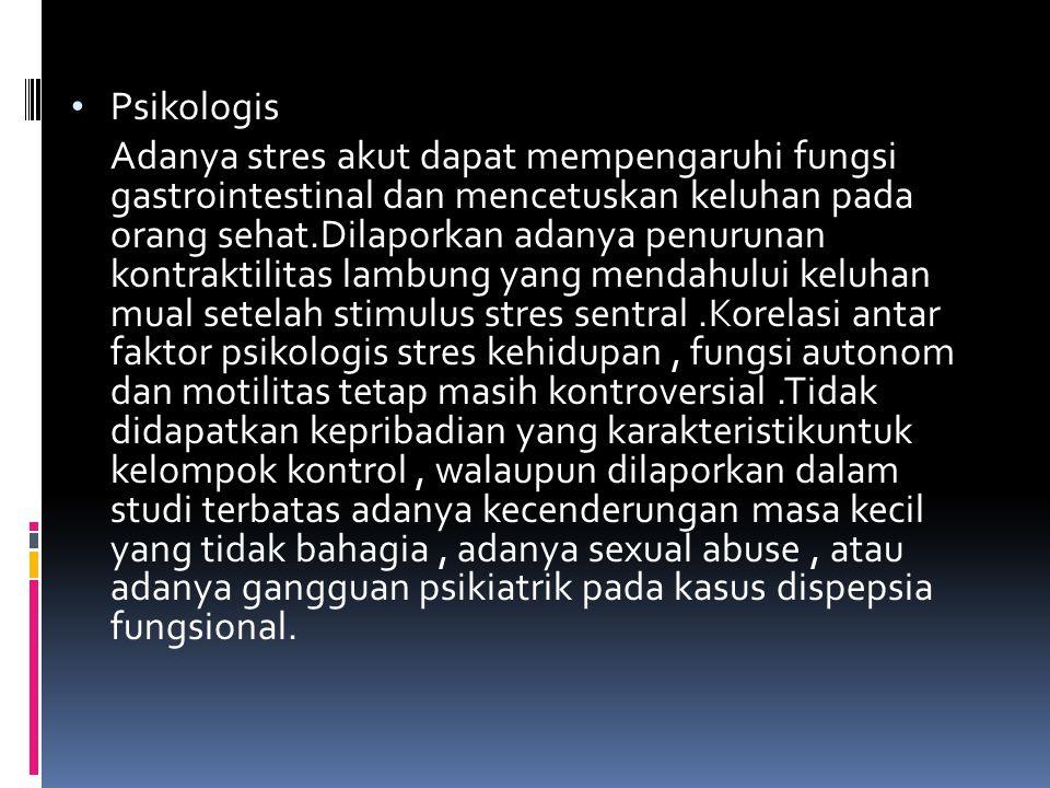 Psikologis