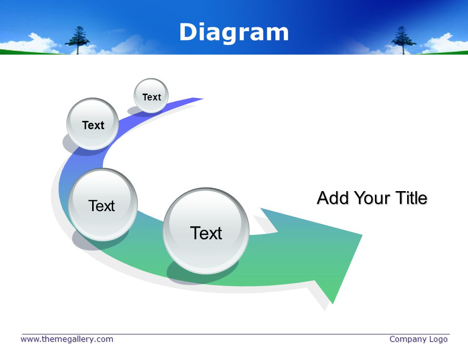 Diagram Add Your Title Text Text Text Text www.themegallery.com