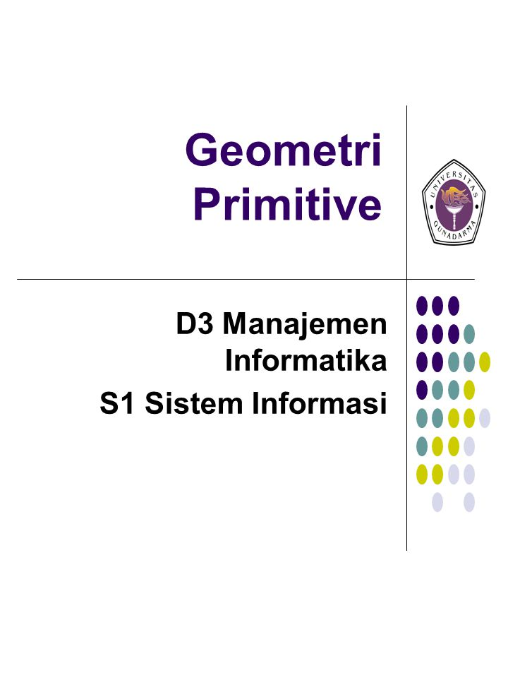 D3 Manajemen Informatika S1 Sistem Informasi