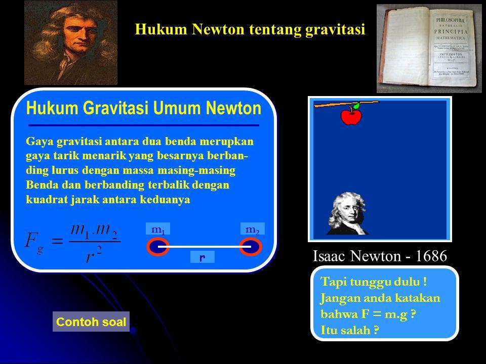 Hukum Gravitasi Umum Newton