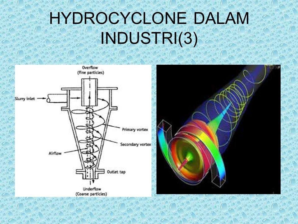 HYDROCYCLONE DALAM INDUSTRI(3)