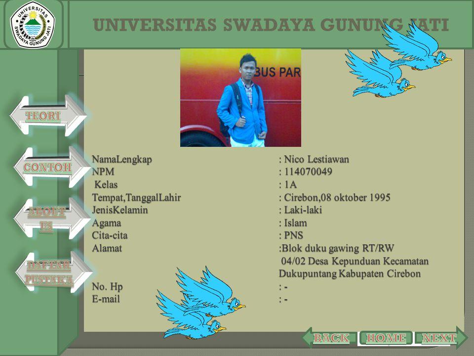 UNIVERSITAS SWADAYA GUNUNG JATI