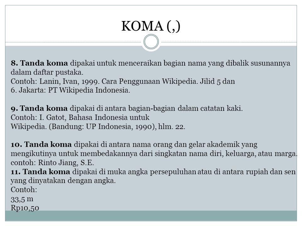 KOMA (,)