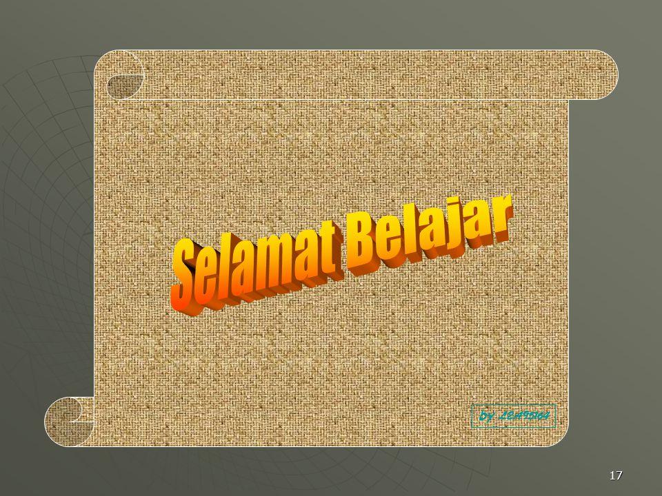 Selamat Belajar by L2A95164
