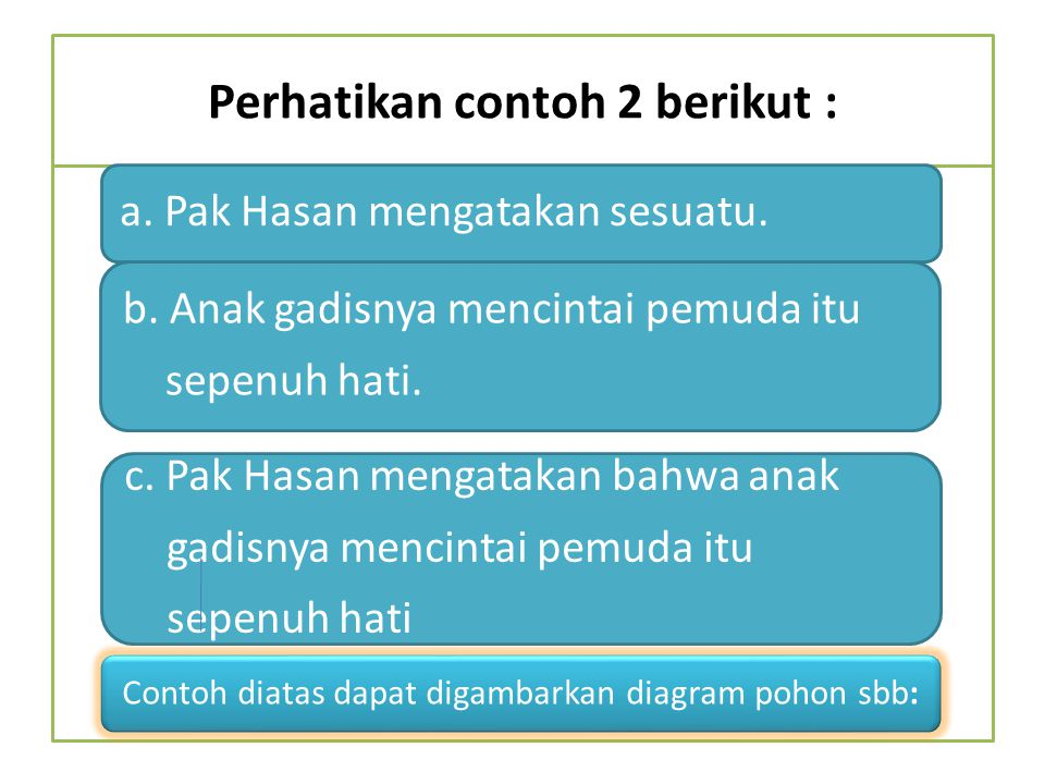 Perhatikan contoh 2 berikut :