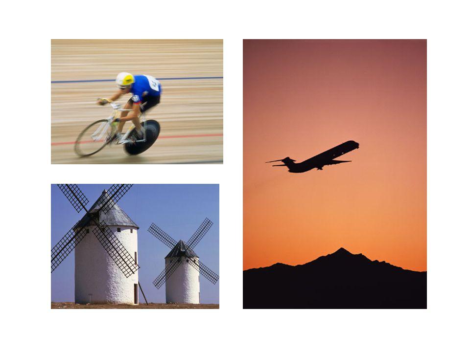 Pembalap sepeda melakukan usaha untuk mengayuh sepeda sehingga melaju paling cepat. Untuk itu dia memerlukan energi yang berupa makanan dan minuman.
