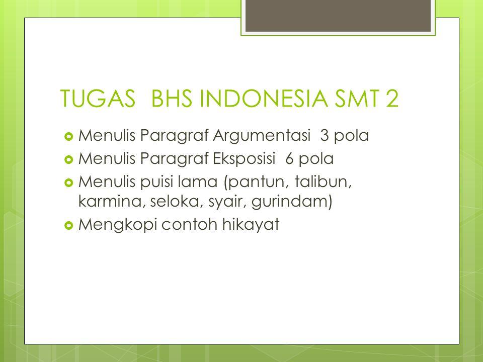 TUGAS BHS INDONESIA SMT 2