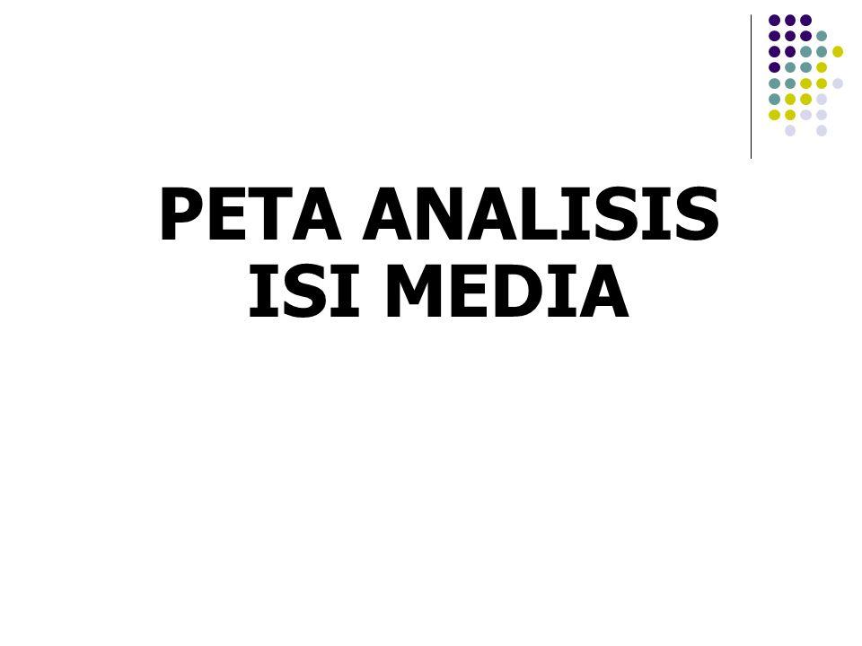 PETA ANALISIS ISI MEDIA