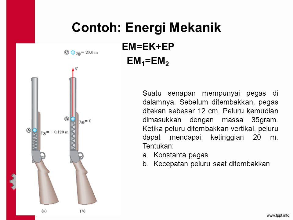 Contoh: Energi Mekanik