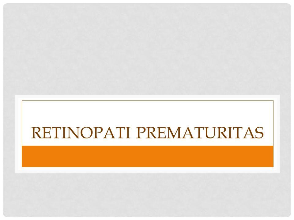 Retinopati prematuritas