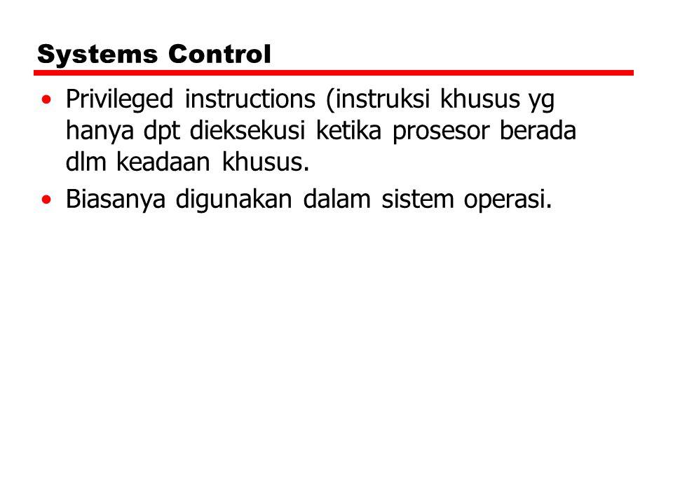 Biasanya digunakan dalam sistem operasi.