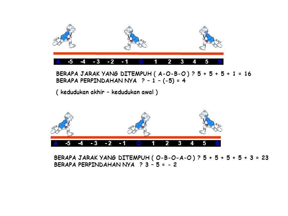 A -5 -4 - 3 - 2 - 1 O 1 2 3 4 5 B