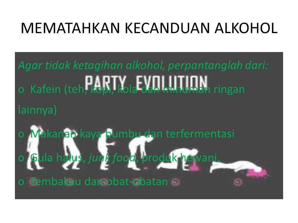 MEMATAHKAN KECANDUAN ALKOHOL