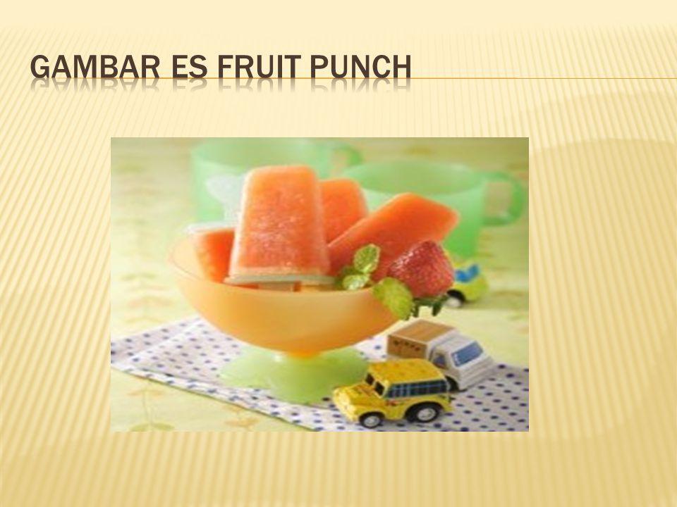 Gambar Es Fruit PUNCH