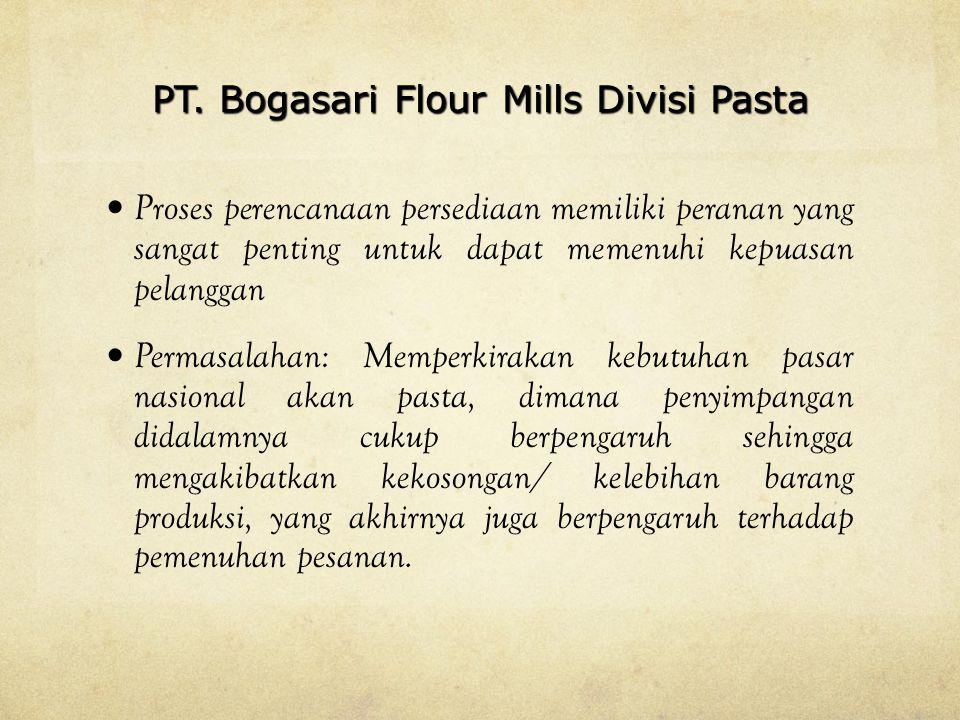 PT. Bogasari Flour Mills Divisi Pasta