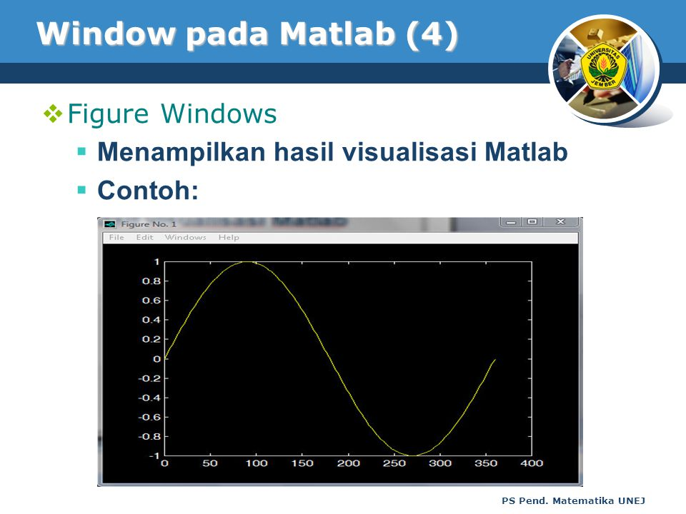 Window pada Matlab (4) Figure Windows