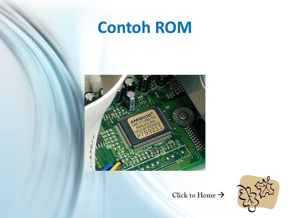 Contoh ROM Click to Home 