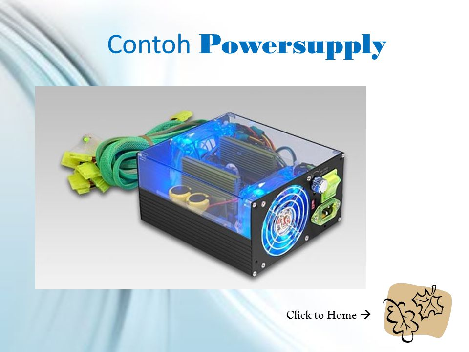Contoh Powersupply Click to Home 