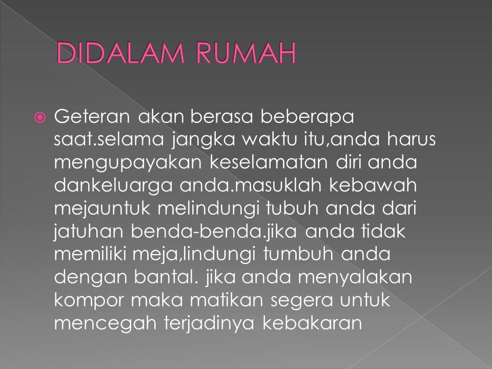 DIDALAM RUMAH