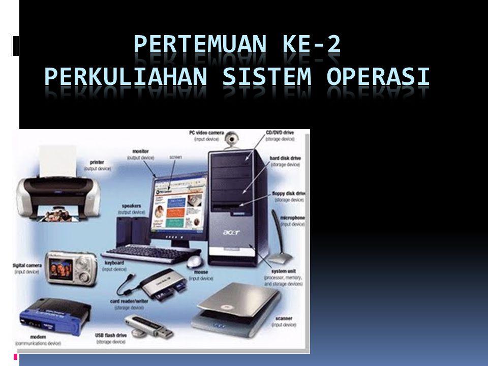 PERTEMUAN KE-2 PERKULIAHAN SISTEM OPERASI