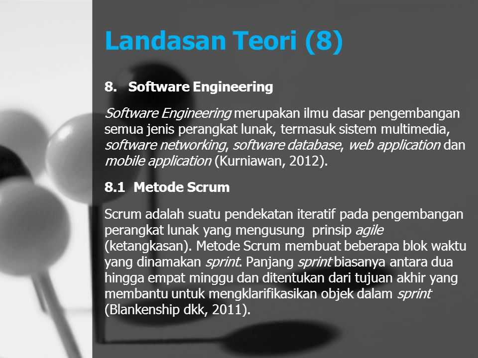Landasan Teori (8) Software Engineering