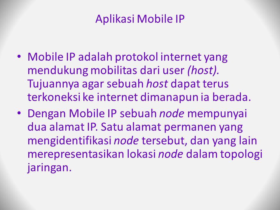 Aplikasi Mobile IP