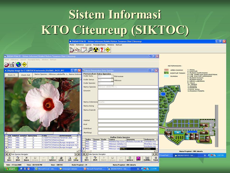 Sistem Informasi KTO Citeureup (SIKTOC)