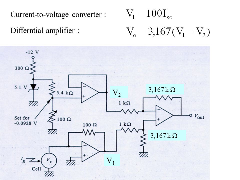 Current-to-voltage converter :