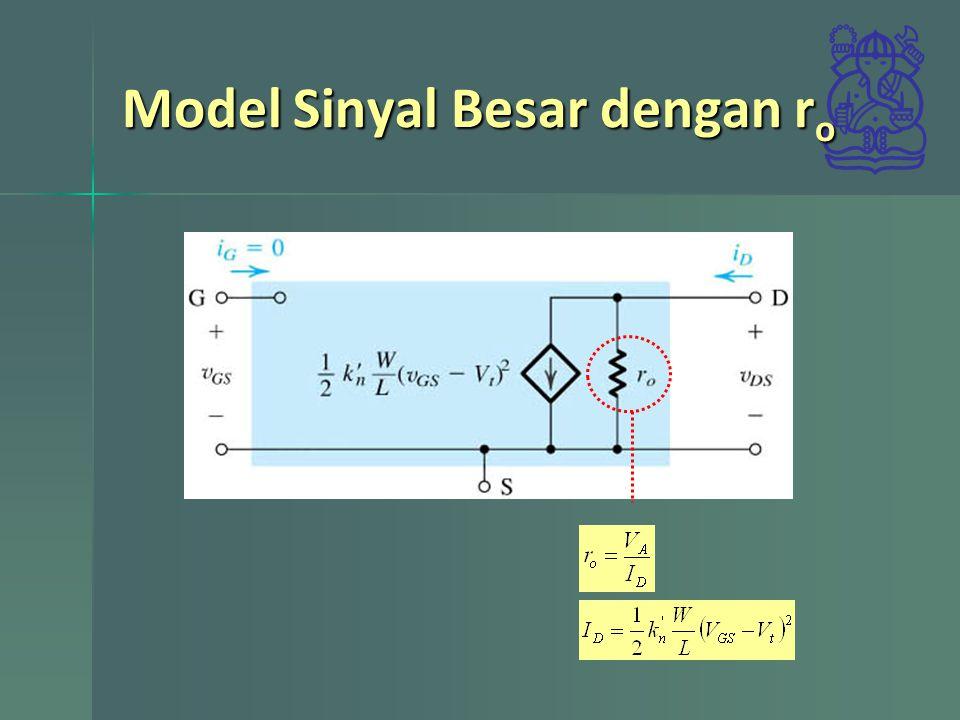 Model Sinyal Besar dengan ro