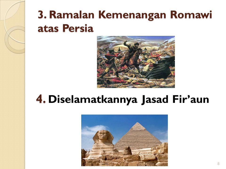 3. Ramalan Kemenangan Romawi atas Persia