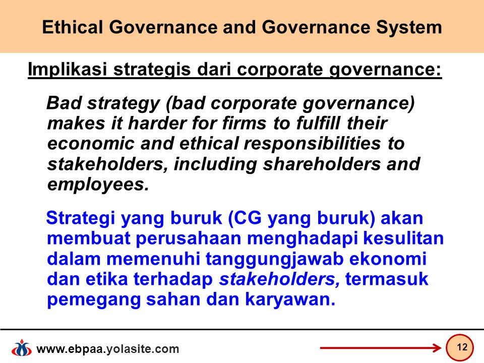 bad corporate governance This is an example text, simply click to edit or delete it delete example content by clicking on it and using the trash icon on the left the plus icon lists all of the elements.