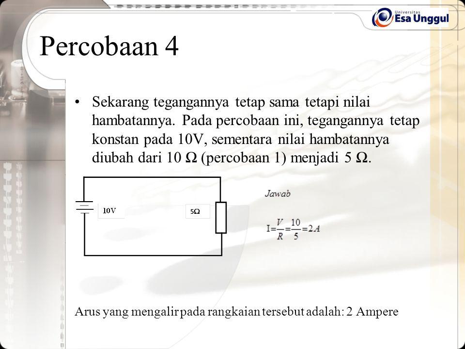 Percobaan 4