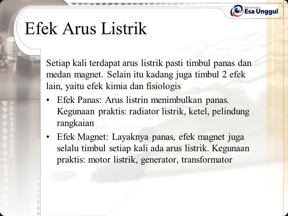 Efek Arus Listrik