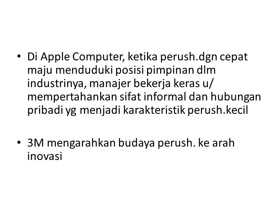 Di Apple Computer, ketika perush