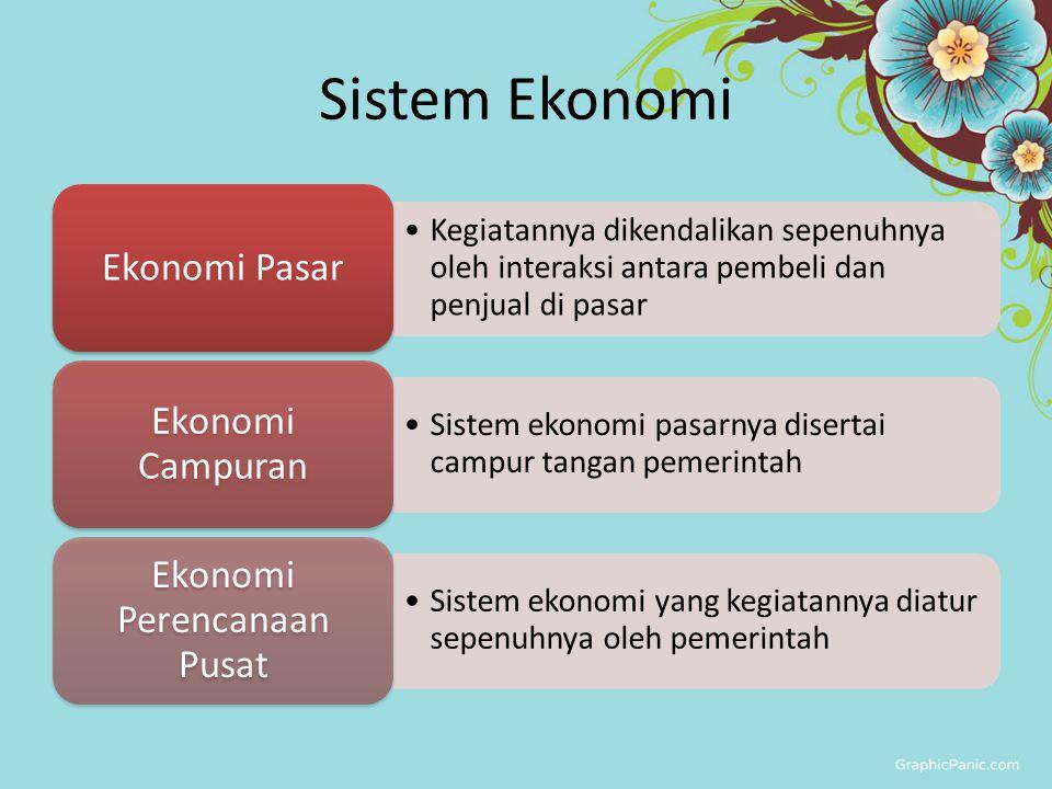 Ekonomi Perencanaan Pusat